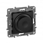 Светорегулятор поворотный без нейтрали 300Вт Etika антрацит, артикул 672619