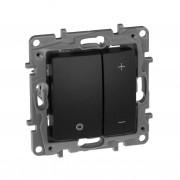 Светорегулятор нажимной Etika 400 Вт антрацит, артикул 672618