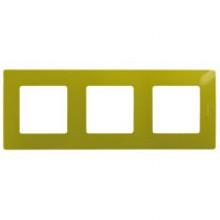 Рамка 3 поста Etika зелёный папоротник, артикул 672543