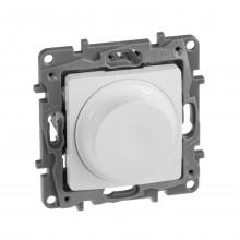 Светорегулятор поворотный без нейтрали 300Вт Etika белый, артикул 672219
