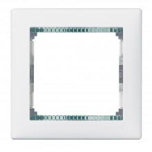 Рамка Valena 1 пост белый/кристалл, артикул 774461