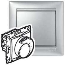 Термостат Valena для систем тёплых полов алюминий, артикул 770291