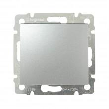 Выключатель без фиксации Valena 10 A 250 В~ алюминий, артикул 770111