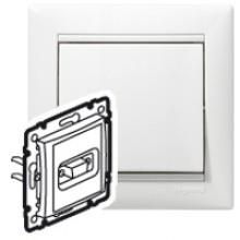 Розетка HD 15 для видеоустройств Valena белый, артикул 770083