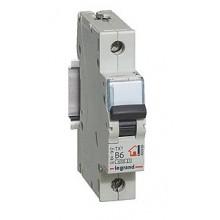 Автоматический выключатель TX³ 6000, 6 кА, тип характеристики C, 1П, 230/400 В~, 10 А, 1 модуль, артикул 404026  Legrand