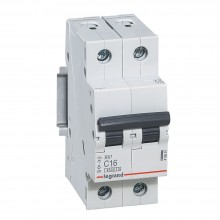 Выключатель дифференциального тока RX3 4,5кА 10А 2П C, артикул 419695  Legrand