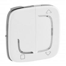 Valena ALLURE MyHome Play Zigbee. Лицевая панель для радиоприемного выключателя,для приводов жалюзи/рольставень.Белая, артикул 754733