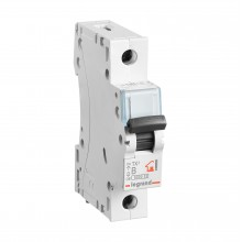 Автоматический выключатель TX³ 6000, 6 кА, тип характеристики B, 1П, 230/400 В~, 25 А, 1 модуль, артикул 403974  Legrand