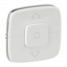 Valena ALLURE.Лицевая панель для выключателя жалюзи и рольставней.Белая, артикул 755145