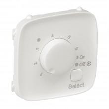 Valena ALLURE.Лицевая панель для термостата для теплых полов.Жемчуг, артикул 755329
