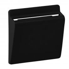 Valena ALLURE.Лицевая панель для выключателя электронного с ключомкартой.Антрацит, артикул 755168