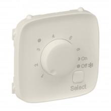 Valena ALLURE.Лицевая панель для термостата для теплых полов.Слоновая кость, артикул 755326