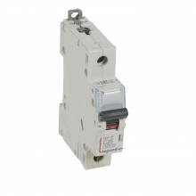 Автоматический выключатель DX³-E 6000, 6 кА, тип характеристики C, 1П, 230/400 В~, 25 А, 1 модуль, артикул 407265  Legrand