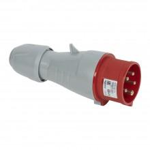 Вилка мобильная - 16А - 3К+H+З - 380 В - IP 44, артикул 090119