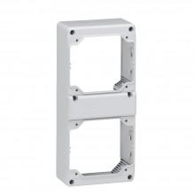 Лицевая панель - P17 Tempra Pro - 280x125 - 2 розетки 16 А c блокировкой-выключателем, артикул 057723