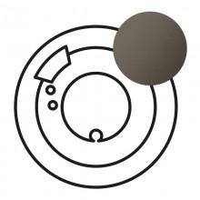 Лицевая панель Программа Celiane комнатный термостат Кат. № 0 674 00 графит, артикул 067980