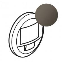 Лицевая панель Программа Celiane датчик движения двухпроводный 250 Вт без нейтрали с функцией ручного управления, Кат. № 0 672 26 графит, артикул 067926