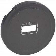 Лицевая панель Программа Celiane розетка USB, Кат. № 0 673 52/72 графит, артикул 067950
