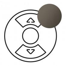 Лицевая панель Программа Celiane для Кат. № 0 676 01/02/04 графит, артикул 067955