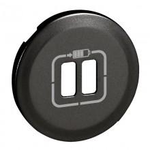Лицевая панель Программа Celiane зарядное устройство 2 х USB 1500 мА, Кат. № 0 674 62 графит, артикул 067956