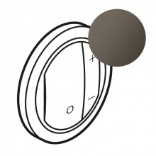 Лицевая панель Программа Celiane светорегуляторы Кат. № 0 670 80/82/83 графит, артикул 065283