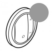 Лицевая панель Программа Celiane светорегуляторы Кат. № 0 670 80/82/83 титан, артикул 065183