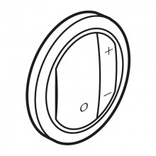 Лицевая панель Программа Celiane светорегуляторы Кат. № 0 670 80/82/83 белый, артикул 065083