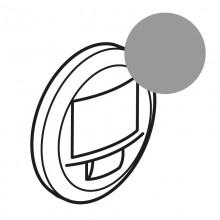 Лицевая панель Программа Celiane датчик движения двухпроводный 250 Вт без нейтрали с функцией ручного управления, Кат. № 0 672 26 титан, артикул 068326