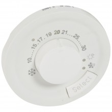 Лицевая панель Программа Celiane комнатный термостат Кат. № 0 674 00 белый, артикул 068240