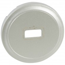 Лицевая панель Программа Celiane розетка USB, Кат. № 0 673 52/72 титан, артикул 068553