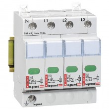 Устройство защиты от импульсных перенапряжений - защита стандартного уровня - Imax 15 кА - 4П