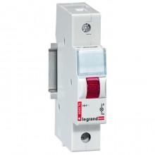 Моноблочный индикатор - 1 лампа - красная - 1 модуль