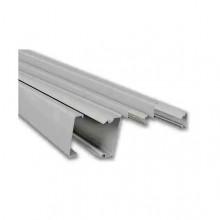 Мини-канал Metra - 40x16 - 2 метра - с крышкой - без перегородки - белый