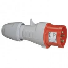 Вилка прямая - P17 Tempra Pro - IP 44 - 380/415 В~ - 16 A - 3К+З