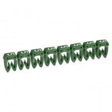 Маркер CAB 3 - для кабеля 0,5-1,5 мм² - цифра 5 - зеленый