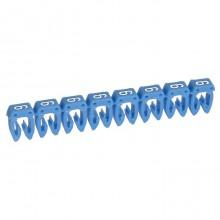 Маркер CAB 3 - для кабеля 0,5-1,5 мм² - цифра 6 - синий