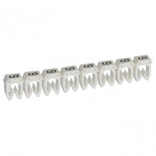 Маркер CAB 3 - для кабеля 0,5-1,5 мм² - цифра 9 - белый