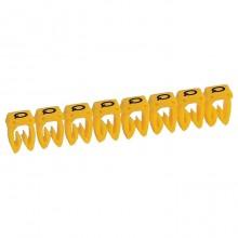 Маркер CAB 3 - для кабеля 0,5-1,5 мм² - заглавная буква Q