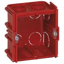 Batibox Коробка монтажная для сплошных стен 1-ная, глубина 50мм