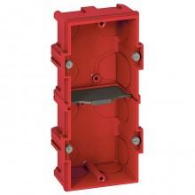 Batibox Коробка монтажная для сплошных стен 2-ная, глубина 40 мм