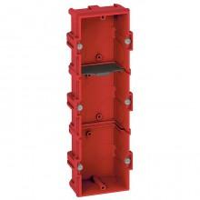 Batibox Коробка монтажная для сплошных стен 3-ная, глубина 40 мм