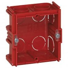 Batibox Коробка монтажная для сплошных стен 1-ная, глубина 40мм