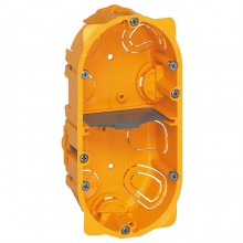 Batibox Коробка монтажная для сухих перегородок 2-ная, 4-мод., глубина 40 мм