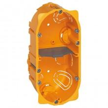 Batibox Коробка монтажная для сухих перегородок 2-ная, 4/5-мод., глубина 50 мм