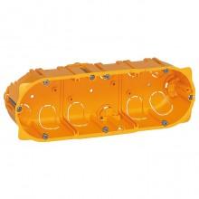 Batibox Коробка монтажная для сухих перегородок 3-ная, 6/8-мод., глубина 50 мм