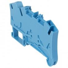 Клемма пружинная проходная Legrand Viking 3 4мм², синий, 037244