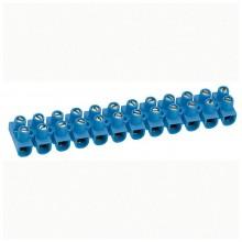 Клеммный блок Nylbloc - сечение 6 мм² - синий