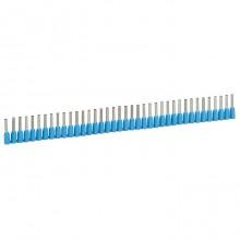 Наконечник в лентах Starfix - для кабелей сечением 0,75 мм² - синий