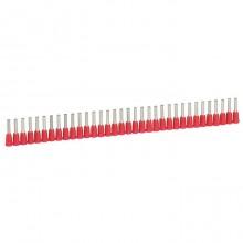 Наконечник в лентах Starfix - для кабелей сечением 1 мм² - красный
