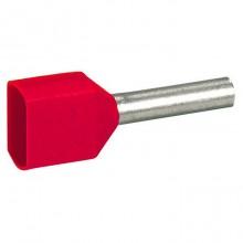 Наконечник Starflix - двойной - россыпью - сечением 2х1 мм² - красный